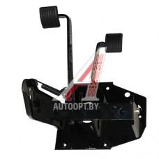 Блок педалей УАЗ-469 в сборе тормоз и сцепление (ОАО УАЗ) — 3151-1602008-10