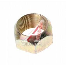 Гайка колеса М30х1.5х22 ГАЗ-53,КРАЗ наружная задняя левая резьба под ключ 38мм